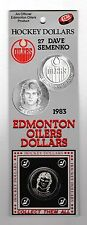 1983 Edmonton Oilers Dave Semenko Hockey Dollar
