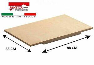 Spianatoia asse in legno 88x55cm per impastare pasta fresca dolci pizza pane