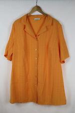 ULLA POPKEN Damen Bluse, orange, Größe 46/48