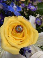 Authentic Pandora Silver Auburn Swirly Swirl Murano Glass 790669 Charm. Retired!