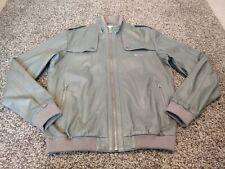 ADIDAS ORIGINALS VESPA LTD LEATHER BOMBER JACKET OG DS MOD TZ 2010 MASTERMIND Y3