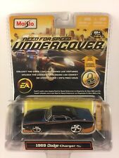 Maisto Need For Speed Undercover '69 1969 Dodge Charger R/T Die-cast 1/64 Scale