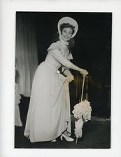 """Francine Graval élue """"Mam'zelle nitouche""""  Vintage silver Print Tirage ar"""