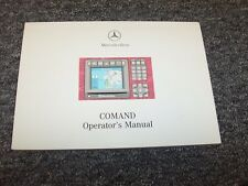 2000 Mercedes Benz S600 S55 S65 AMG S-Class Navigation System Owner Manual