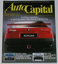 AUTOCAPITAL 10/1988 BMW M5 – TUCKER – DINO 206 GT / 246 GT / GTS – VW CORRADO