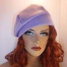 "Chemo Hat Pale Lavender  Anti-pill Fleece Beret Cap  ""Something4you"" Alopecia"