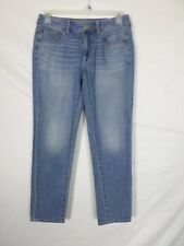 NEW American Eagle Womens Jeans Size 6 (30x27.5) Boy Fit Straight Leg Cotton