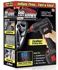 Air Hawk Pro Automatic Cordless Tire Inflator Portable Compressor LED Recharge