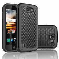 LG Optimus Zone 3/ Rebel LTE / K4 / Spree/ K3 Phone Case Shockproof Rubber Cover