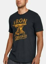 Under Armour X Project Rock Iron Paradise Graphic S/S Mens Large Tee 1326388-001