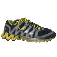 Reebok Mens Zigtech Running Shoes Athletic Style M40396 Gray Yellow US Size 11