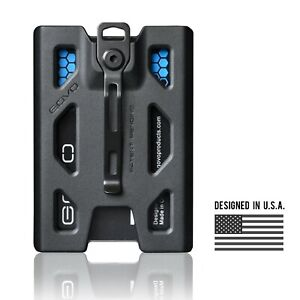 GOVO T4 Badge Holder/Wallet - Polycarbonate version, Black(original seller)