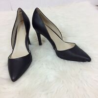 "Mia Womens Margo Black Textured High Heel Shoes Pumps Size 8.5B 4"" Heels"