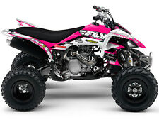 RAPTOR 350 RAPTOR350 YAMAHA GRAPHICS KIT DECO STICKERS ATV QUAD 4 FLY DECALS