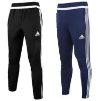 Men's Adidas Tiro Joggers Tracksuit Jogging Bottoms Track Pants - Navy & Black