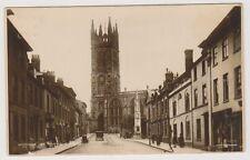 Warwickshire postcard - Warwick, St Mary's Church - RP - P/U 1924