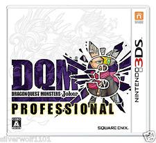 New Nintendo 3DS Dragon Quest Monsters Joker 3 Professional 4988601009645 Japan