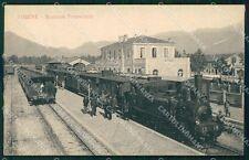 Vicenza Thiene Stazione Treno cartolina QT2662