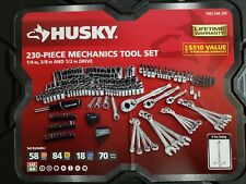 Husky Mechanics Tool Set (230-Piece), Complete, Durable, New
