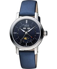 EPOS Ladies automatic 316L s/steel moon Moonphase date-day-month 4391 see-thru
