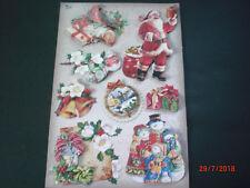 """NEU  3-D-Stickerbogen """"Weihnachten"""" # 31 -  NEU (von Karin Jittenmeier)"""