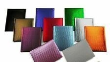 Any Size Color Matte Metallic Poly Bubble Mailers Mailing Padded Shipping