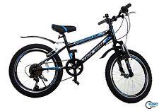 20 Zoll Fahrrad Kinderfahrrad Jungenfahrrad Mountainbike MTB Shimano Bike Blau