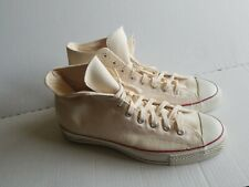 Vintage Converse Irregular All Star Basketball Shoes Mens Hi White Size 12.5