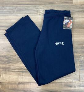 NEW VTG DEADSTOCK Women Champion Yale University fleece sweatpants, M