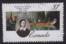 CANADA 1988 Frances Ann Hopkins 150th Anniversary. Set of 1. Fine USED. SG1313.