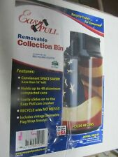 Easy Pull Can Crusher Collection Bin.#CB2127  NEW