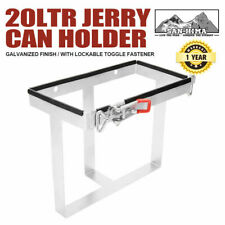 20l Jerry Can Holder Bolt on Galvanized 4x4 Camper Trailer Caravan Offroad