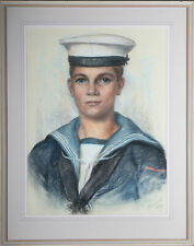 More details for 1962 pastel - young sailor