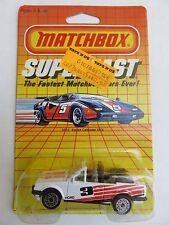Matchbox 1985 SF15 Ford Escort Cabriolet XR3i 1:64 White Vintage Die-cast