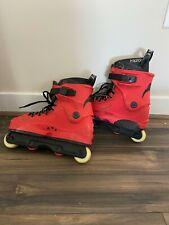 Razors SL Red / FL 2 Aggressive Inline Skates Mens Size 8