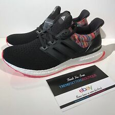 ADIDAS Mi ULTRA BOOST 8 8.5 9 9.5 10 10.5 RAINBOW BY1756 MULTICOLOR BLACK WHITE