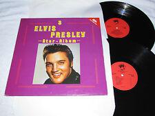 ELVIS PRESLEY Star Album #3 Double Album 2-LP SET Made in Denmark/EEC VG+