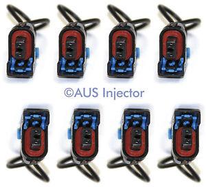 Set of 8 Fuel Injector Connector Pigtails fit DELPHI Mini GM [DELF-8]