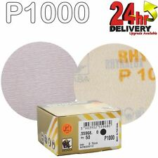 "Indasa Rhynogrip HT Line 75mm 3"" Sanding Discs P1000 Box of 50 Grip System"