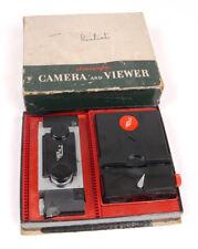 David White ST-41/61 Stereo Camera & Viewer Set - Tested/EX+/Original Box
