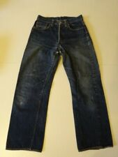 Vtg 1950s LEVI'S 503 BXX  Big-E Red Line Selvage Hidden Rivets Denim Jeans 28x28
