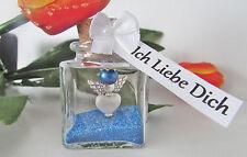 Männer Valentinstag Geschenk Blau Schutzengel Im Glas  Ich Liebe Dich