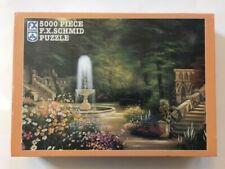 F.X. Schmid 5000 Piece Gothic Garden Jigsaw Puzzle Brand New