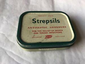 Vintage Tin - Strepsils