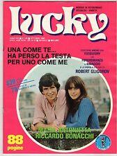 fotoromanzo LUCKY ANNO 1980 NUMERO 145 ANTONIETTA BONACCHI GLIGOROV