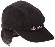 Berghaus WINSTOPPER MOUNTAIN II CAP Soft Shell Fleece Lined Hiking Hat Black S