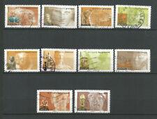France 2007 Art Antiquités 10 timbres oblitérés dont 7 cachets ronds /T6834