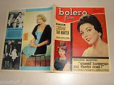 BOLERO=1961/759=JOAN COLLINS COVER MAGAZINE=TUB HUNTER=EVA MARIE SAINT=