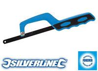 Silverline Hacksaw Handle Close Quarter Die Cast Aluminium  250 - 300mm Blade