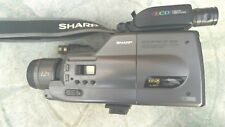 SHARP VL-C8000H VIDEO  CAMCORDER, ACCESSORIES, BAG AND CHARGER. WORKING. RARE.